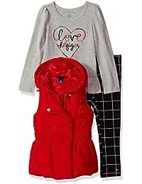 Girls' 3 Pieces Vest Set