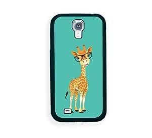 Hipster Cartoon Giraffe Samsung Galaxy S4 I9500 Case - Fits Samsung Galaxy S4 I9500