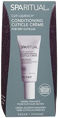SpaRitual Cuti-Quench Cuticle Crème for Women,0.5 Ounce