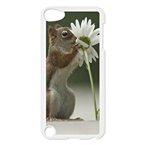 Durable Material Phone Case With Squirrel Image On The Back For iPod Touch 5
