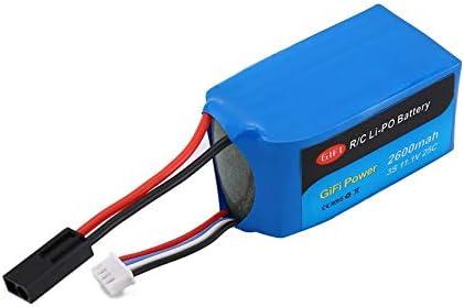 chengshiandebaihu 11.1V 2600mAh LiPo Battery Rechargable Battery for PARROT AR DRONE 1.0 /& 2.0