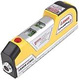 Générique LV02 Niveau Laser Vertical Horizon mesure de bande 8FT Aligner Multipurpose Ruler Couleur Jaune