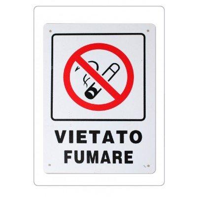 Cartel prohibido fumar 16,5 x 22, 5 cm - Señalización locali ...
