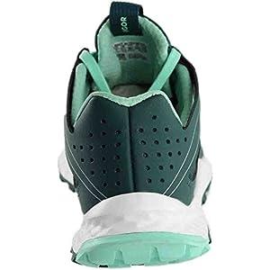 Adidas Womens Vigor Bounce W Trail Runner 7 Tech Green/Mystery Green/ Easy Green
