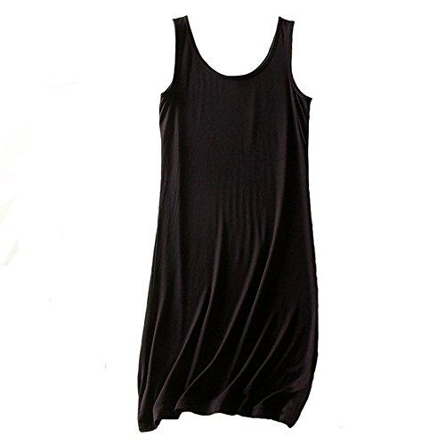 Zerozero - Camiseta sin mangas - para mujer negro