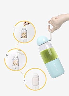 Daily juice Smoothie Blender, Emsems USB Juicer Blender portátil ...