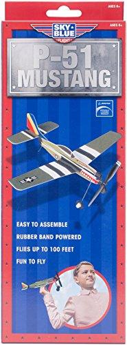 Sky Blue Flight Skyryders P-51 Mustang Model Kit