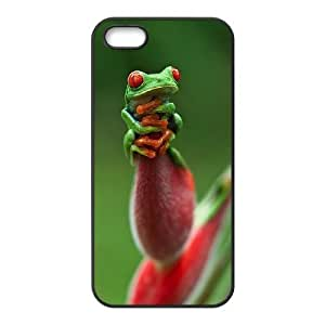 Frog Use Your Own Image Phone Case for Iphone 5,5S,customized case cover ygtg531211
