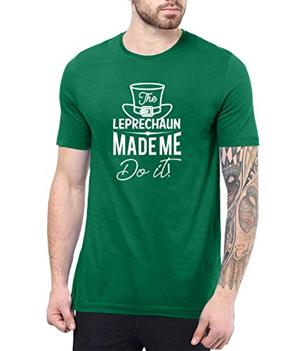 Green st Patricks Day Shirt Men - St Paddys Day Shirts | Made Me, L