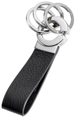 Troika Click Black Leather Keyholder (KR802LE)