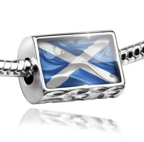 NEONBLOND Charm Scotland 3D Flag Region: United Kingdom - Bead Fit All European Bracelets