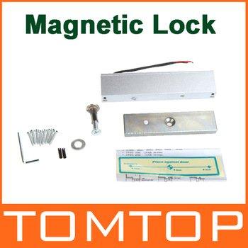 Docooler Single Door 12V Electric Magnetic Electromagnetic Lock (350LB) Holding Force for Access Control - 180KG