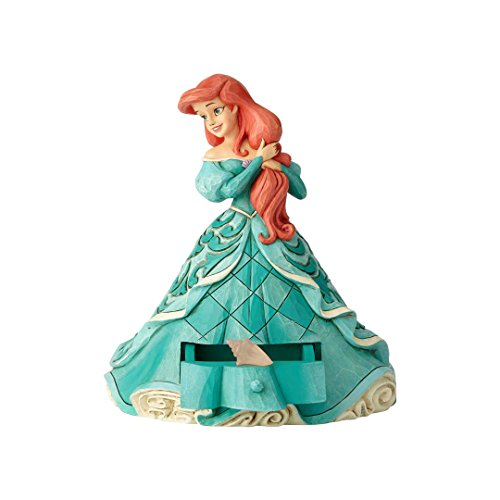 Enesco Disney Traditions Ariel with Shell Charm (Princess Drawer Pull)