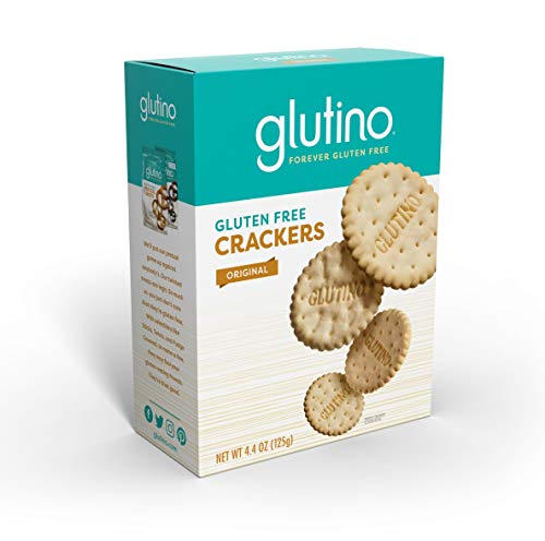 Gluten Free by Glutino Snack Crackers, Premium Rounds, Original, 4.4 Ounce