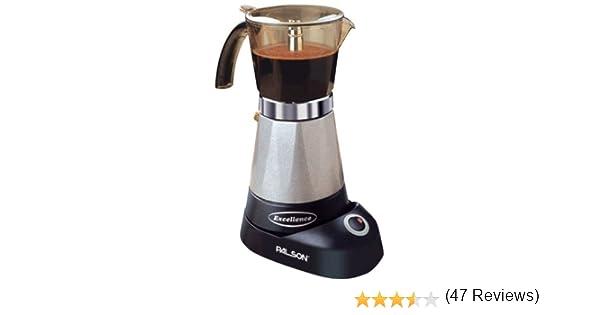 Palson Supreme 30428 Percolato - Máquina de café (6 tazas): Amazon ...