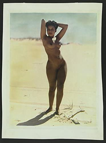 Amazon Com Photo African American Woman Posed Nude On A Beach