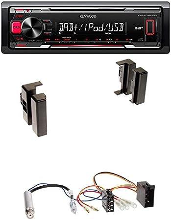 Radioeinbauset Kenwood Kmm Dab403 Radio Mit Dab Elektronik