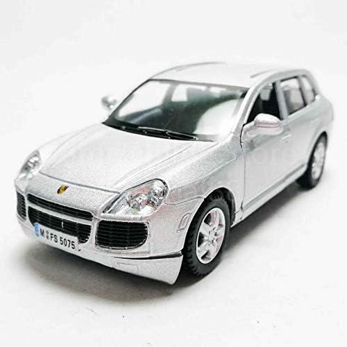 1:38 Silver mini PORSCHE Cayenne Turbo alloy Diecast model Pull Back Car DC