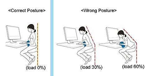 caredisk pato cojín de corrección de postura pecho apoyo almohada siesta oficina escritorio: Amazon.es: Hogar