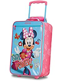 Kids' Disney Softside Upright Luggage, Minnie Mouse 2, Carry-On 18-Inch