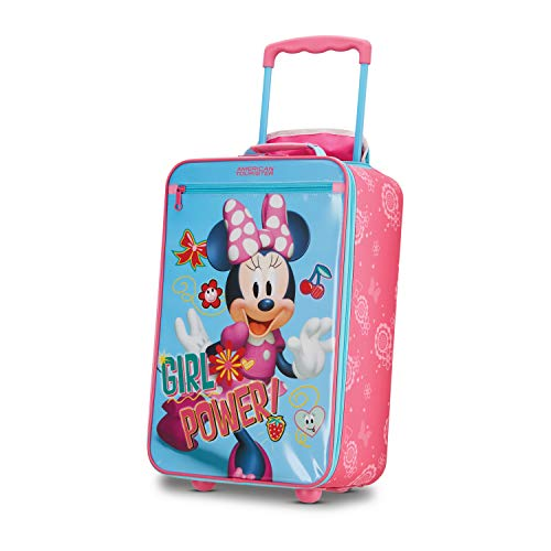 American Tourister Disney Kids Minnie Mouse Softside Upright 18 Inch, 2]()