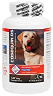 Cosequin DS Plus MSM contains FCHG49 Glucosamine Hydrochloride, TRH122 Sodium Chondroitin Sulfate, and MSM (Methylsulfonylmethane). This combination of ingredients helps to protect your dog's joints and support healthy cartilage matrix produc...