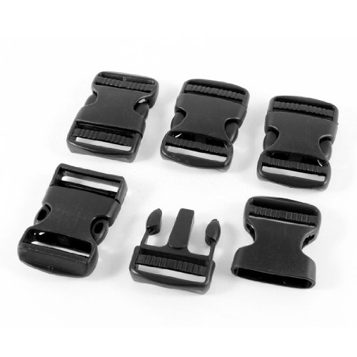 uxcell Plastic Black Release Buckle