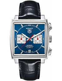 Tag Heuer Monaco Calibre 12 Chronograph Mens Watch CAW2111.FC6183
