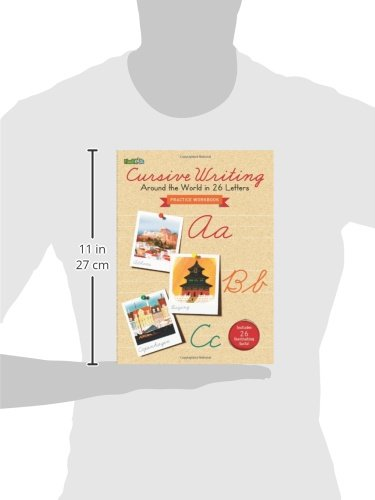 Cursive Writing: Around the World in 26 Letters: Flash Kids ...