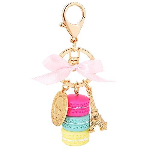 Song Macaron Pendant Keychain Keyring product image