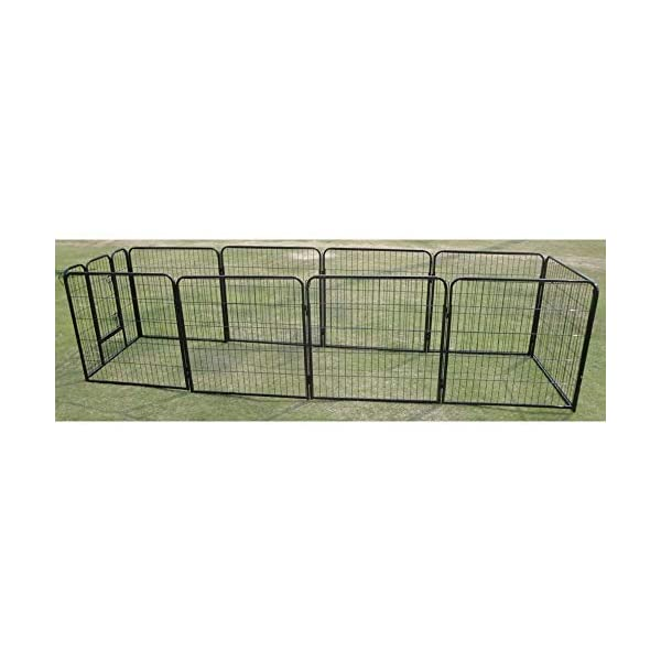 10 x 1200 Tall Panel Pet Dog Cat Exercise Play Pen Enclosure – Animal Protection Playpen Toilet Training with Secure and… Click on image for further info. 4