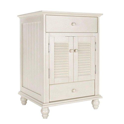 Pegasus CTAA2422D Cottage 24-Inch Vanity, Premium Antique White - 30' Two Doors Vanity