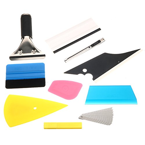 Tool Around Install Wrapping Applicator Tools Car Repair Equipments - 1 Squeegee Car Window Tinting Auto Film Install Wrapping Applicator Tools - Put Puppet Creature Peter - 1PCs