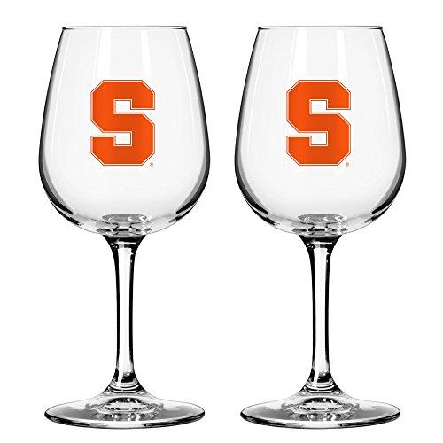 NCAA Syracuse Orange Game Day Wine Glass, 12-ounce, - Glasses Syracuse