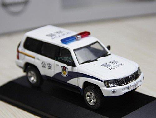 1 43 Nissan Patrol China Police Car Model Car Diecast Car