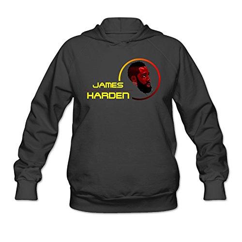 (ShowTime Jemes #13 Hurden Women's Fashion Hooded Black S)