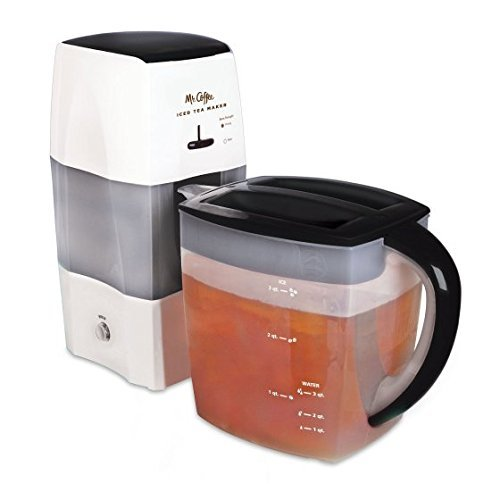 Find Bargain Mr. Coffee Home Office Kitchen 3-Quart Iced Tea Maker, Black By Dreamsales