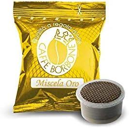 200 capsule Borbone oro compatibili espresso point