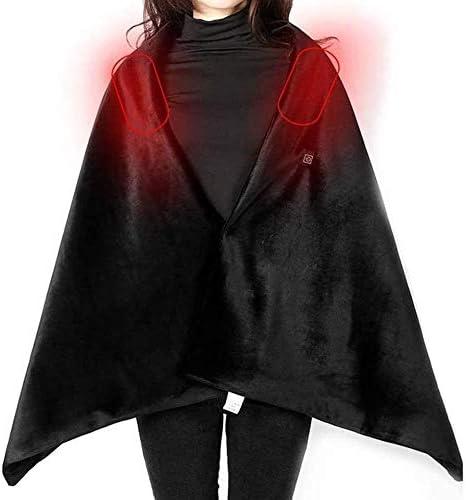 スマートショルダーパッド暖房電気暖房ショールUSB服電気温水ジャケット暖かいボディ暖房パッド、防寒と暖かい暖房クローククローク子宮頸ベスト小型電気毛布