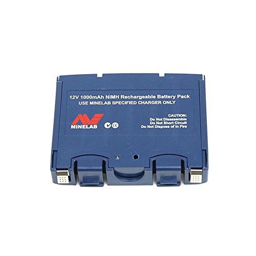 Minelab Sovereign Gt Metal Detector - Minelab Spare NIMH Battery for Eureka Gold & Sovereign Metal Detector