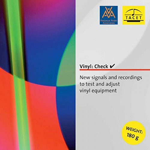 Vinyl: Check - New signals and recordings to test and adjust vinyl equipment