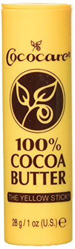 Cococare 100% Cocoa Butter Stick, 1 oz, Pack of 4