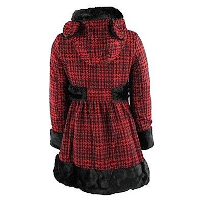 Red Hell para Bunny mujer black Abrigo WqSIcqpC