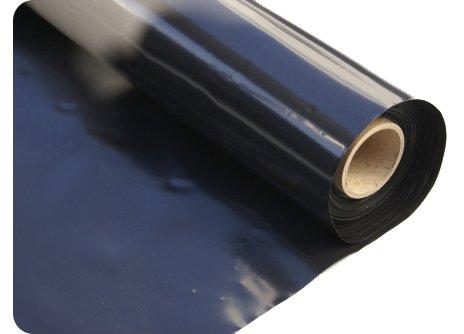 Elixir Gardens ® Black Polythene Sheeting Plastic Covers 1M 500G - 1mx20m
