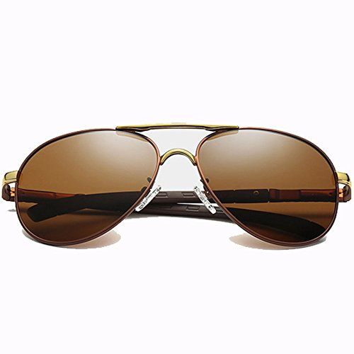 Polarizado Business De Box Gafas Big Hombres Sol Colores Sports Gafas Glasses Sol De Lens E De Fashion Driving B FSFwt