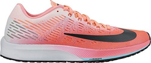 Women's Nike Air Zoom Elite 9 Running Shoe HOT PUNCH/BLAC...