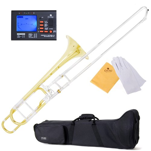 Mendini MTB-31 Intermediate Bb Tenor Slide Trombone