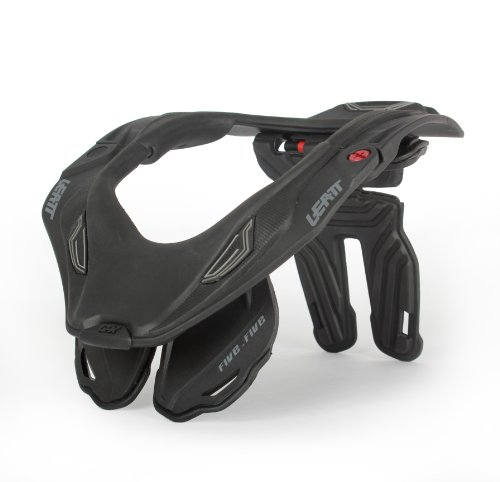 Leatt GPX 5.5 Neck Brace (Black/Grey, Small/Medium)