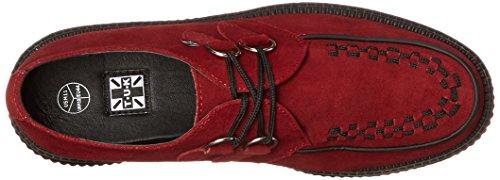Black Rouge Baja Viva K U T Bordeaux Mujer Rojo Zapatilla Lo Interlace 7B8v6xq