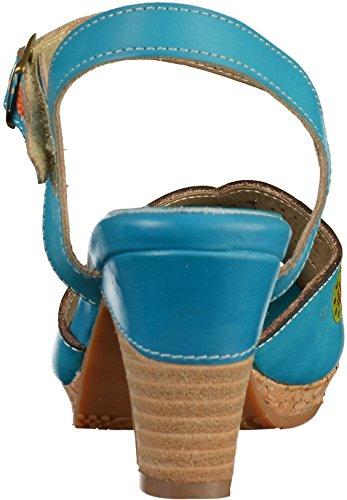 Laura Vita Danielle03 Yf229-3 Kvinders Sandaler Turkis (blå) d5l87AvvwN